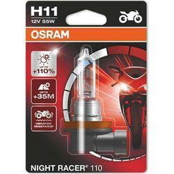 Żarówka do Motocykla Osram® H11 Night Racer® 110 | Blister 1 szt.