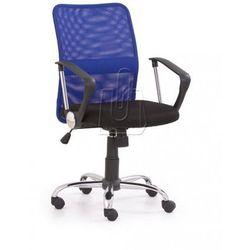 Fotel pracowniczy Tony niebieski - gwarancja bezpiecznych zakupów - WYSYŁKA 24H