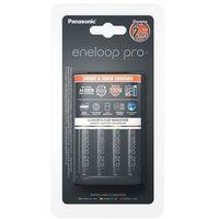 Ładowarki do akumulatorków, Ładowarka Panasonic Panasonic Ładowarka BQ-CC55 + 4 x R6/AA Eneloop Pro 2500 mAh - K-KJ55HCD40E Darmowy odbiór w 19 miastach!