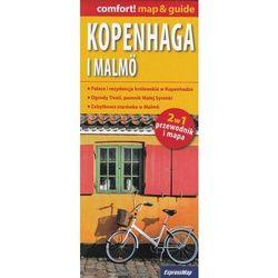 Kopenhaga i Malmö laminowany map&guide (2w1: przewodnik i mapa) (opr. miękka)