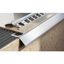Profil aluminiowy balkonowy naturalny 34mm 2,5m - okapnik w kolorze naturalnym