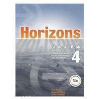 Książki do nauki języka, Horizons 4 SB OXFORD - Paul Radley, Daniela Simons, Colin Campbell (opr. miękka)