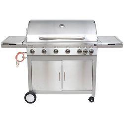 G21 grill gazowy Mexico, BBQ Premium Line 7 palników + zawór redukcyjny