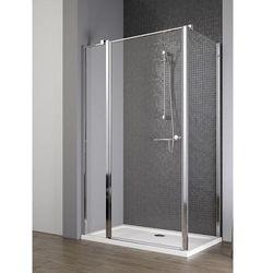 Radaway EOS II KDJ drzwi 110 lewe x ścianka 90 prawa wys. 195 cm szkło przejrzyste 3799423-01L/3799431-01R