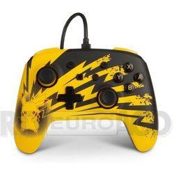 PowerA Switch Pad przewodowy Pokemon Lightning Pikachu