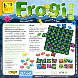 Gra Frogi - DARMOWA DOSTAWA OD 199 ZŁ!!!
