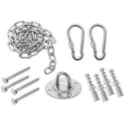 Sufitowy zestaw do montażu hamaków i huśtawek z łańcuchem