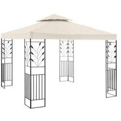 Uniprodo Pawilon ogrodowy - ornament - kremowy UNI_PERGOLA_3X3B - 3 LATA GWARANCJI