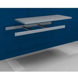 Dodatkowa półka w komplecie z trawersami i półką stalową, szer. 1500 mm, gł. 600