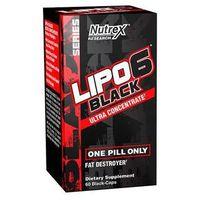 Redukcja tkanki tłuszczowej, Nutrex Lipo 6 Black UC 10 caps.