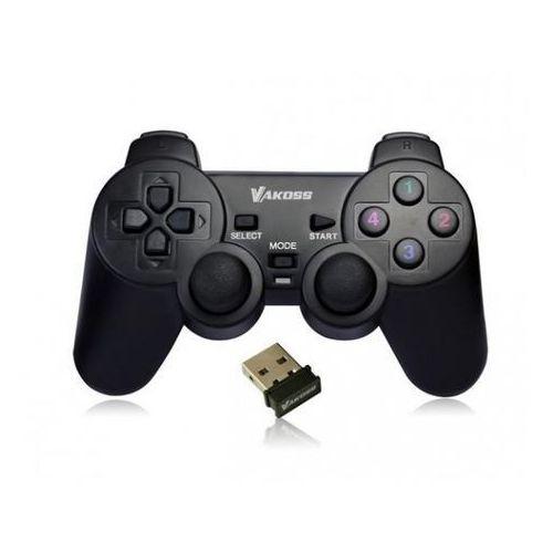 Gamepady, Gamepad Vakoss GP-3925BK Szybka dostawa! Darmowy odbiór w 21 miastach!