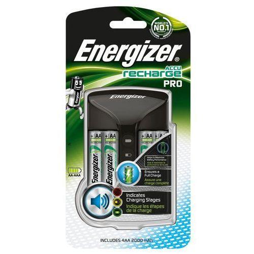 Ładowarki do akumulatorków, Ładowarka do akumulatorków Energizer Pro Charger E300696601, AAA, AA