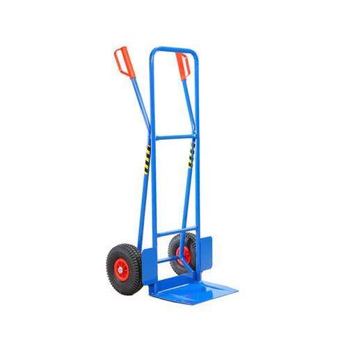 Wózki i stoły narzędziowe, Wózek ręczny dwu-kołowy rurka