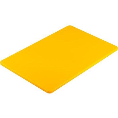 Pozostała gastronomia, Deska do krojenia 450x300 mm żółta STALGAST 341453