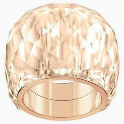 Pierścionek nirvana swarovski, odcień złota, powłoka pvd w odcieniu różowego złota