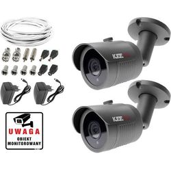 Monitoring kamera LV-AL30HT 2x kamera IR30m Ivel electronics Akcesoria