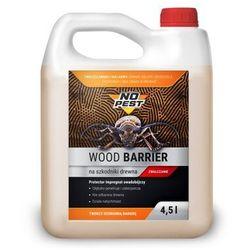 Środek na korniki, spuszczele, kołatki owady w drewnie 4,5L NO PEST WOOD BARRIER.