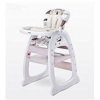 Krzesełka do karmienia, Krzese�ko do karmienia Homee Caretero (be�owe)