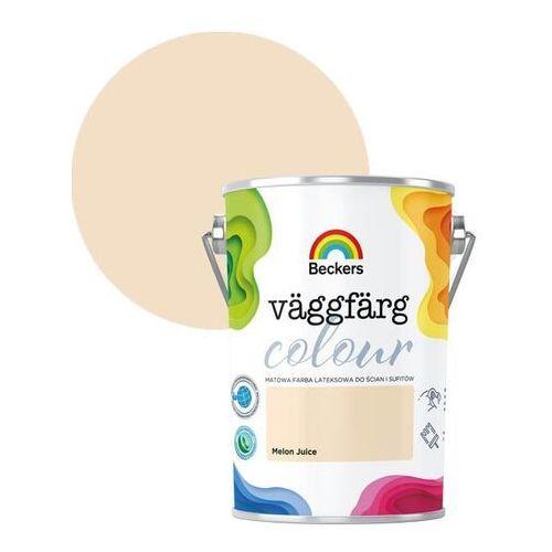 Farby, Farba lateksowa Beckers Vaggfarg Colour melon juice 5 l