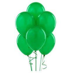 Balony lateksowe pastelowe zielone - średnie - 100 szt.