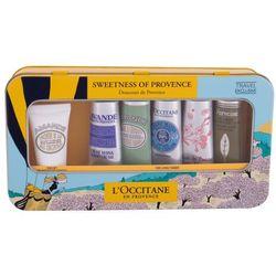 L´Occitane Almond (Amande) zestaw Krem do rąk 5 x 30 ml + Krem do ciała 20 ml + Metalowe pudełko dla kobiet