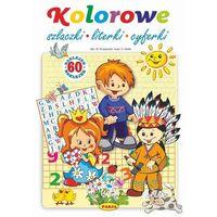 Książki dla dzieci, Kolorowe szlaczki literki cyferki (opr. broszurowa)
