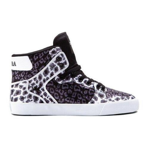 Damskie obuwie sportowe, buty SUPRA - Women-Vaider Black/Animal (BAN) rozmiar: 35.5