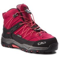 Kozaki dziecięce, Trekkingi CMP - Kids Rigel Mid Trekking Shoes Wp 3Q12944 Granita/Corallo 72BM