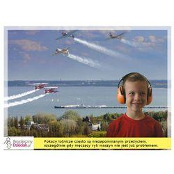 Słuchawki ochronne nauszniki dla dzieci od ok 2lat - flaga szwedzka