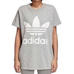 adidas Originals ADICOLOR BIG TREFOIL TEE Tshirt z nadrukiem grey
