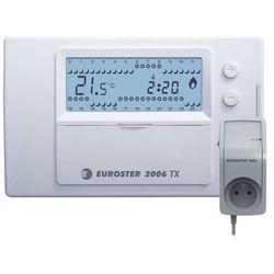 Programowany, bezprzewodowy, regulator temperatury Euroster 2006TXRXG z gniazdem