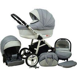 Sun Baby Wózek wielofunkcyjny Alu way 3w1, silver - BEZPŁATNY ODBIÓR: WROCŁAW!