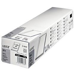 Grzbiet wsuwany LEITZ 6mm - bezbarwne 21783