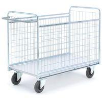 Wózki widłowe i paletowe, Wózek CARAVAN, z siatki, 1390x650x1030 mm