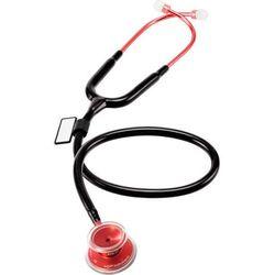 Lekki stetoskop internistyczny MDF Acoustica 747XP MOD - czarny - czerwony