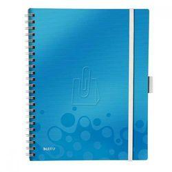 Kołonotatnik Leitz Wow A4/80 WOW Be Mobile niebieski 46450036