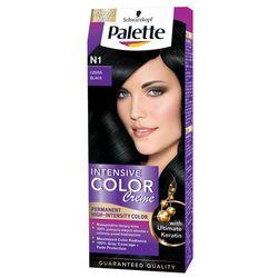 Farba do włosów Palette Intensive Color Creme Czerń N1