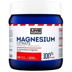 Minerały UNS Mgnesium Citrate 200g Najlepszy produkt Najlepszy produkt tylko u nas!
