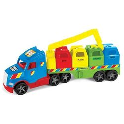 Pojazd Magic Truck basic Śmieciarka recykling (36320). od 3 lat