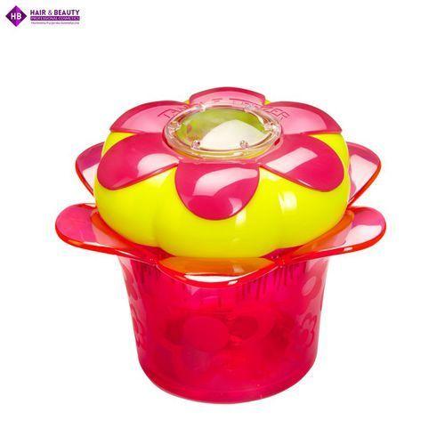 Grzebienie i szczotki, Tangle Teezer Magic Flowerpot Princess Pink szczotka do włosów dla dzieci
