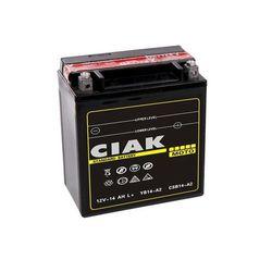 Akumulator motocyklowy CIAK YTX16-BS 12V 14Ah 230A L+