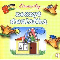Książki dla dzieci, Czwarty zeszyt dwulatka. Biblioteczka mądrego dziecka (opr. broszurowa)
