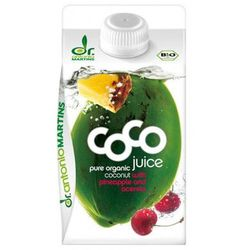 DR MARTINS 500ml Woda Kokosowa Ananas Acerola BIO