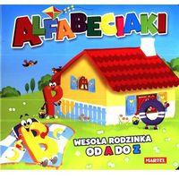 Książki dla dzieci, Alfabeciaki Wesoła rodzinka od A do Z (opr. kartonowa)
