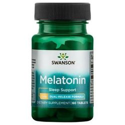 Melatonina podwójne uwalniane 3mg 60 tabl.