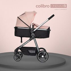 Wózek 2w1 Colibro Onemax Flamingo