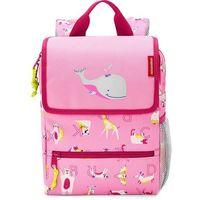 Tornistry i plecaki szkolne, Plecak dla dzieci Backpack Kids abc friends Reisenthel różowy (RIE3066)