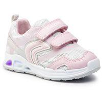 Półbuty i trzewiki dziecięce, Sneakersy GEOX - B Dakin G. A B922VA 0EWBC C0814 S White/Lt Pink