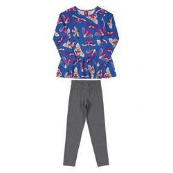 Komplet dziewczęcy bluza+spodnie 3P39AD Oferta ważna tylko do 2023-10-26