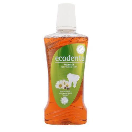 Płyny do jamy ustnej, ECODENTA - Ekologiczny płyn do płukania jamy ustnej dla wrażliwych zębów